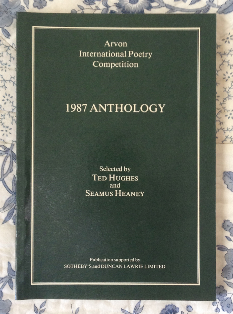 Arvon International Poetry Completition – 1987 Anthology